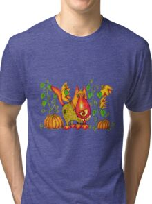 Sweet Pumpkin Tri-blend T-Shirt