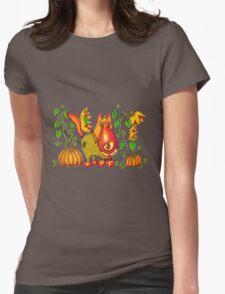 Sweet Pumpkin Womens Fitted T-Shirt
