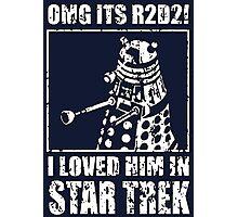 R2-D2 Star Trek Dalek Photographic Print
