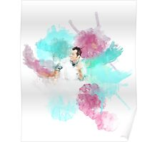 One Flew Over the Cuckoo's Nest Watercolor Poster