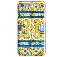Azulejo - Floral Decoration iPhone Case/Skin