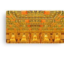 Ten Thousand Buddahs Monastery  Canvas Print