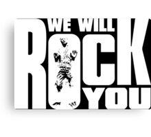 Rock you! Canvas Print