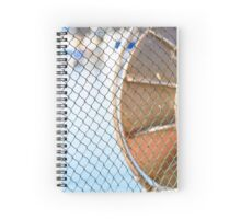 The fishing net lying in the sun. Spiral Notebook