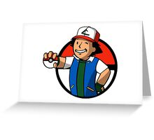 Trainer Boy Greeting Card