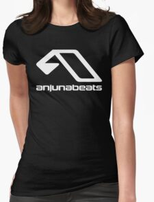 music-Anjunabeats Womens Fitted T-Shirt
