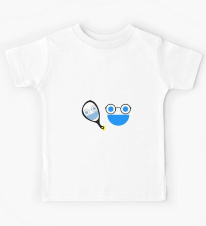 Face gets Glasses Kids Tee