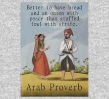 Better To Have Bread - Arab Proverbs One Piece - Long Sleeve
