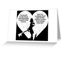 SORA KINGDOM HEARTS Greeting Card