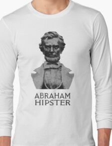 Abraham Hipster Long Sleeve T-Shirt