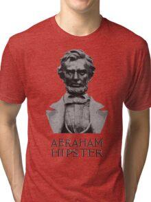 Abraham Hipster Tri-blend T-Shirt