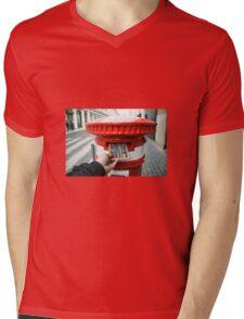 post cork  Mens V-Neck T-Shirt