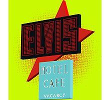 Elvis Motel Photographic Print