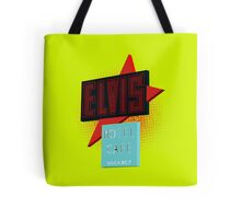 Elvis Motel Tote Bag