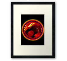 Thundercats Design T-shirt Framed Print
