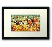 The Evolution Pokémon Framed Print