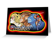 Thundercats Design T-shirt Greeting Card