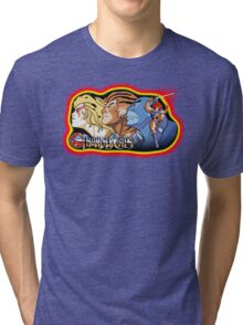 Thundercats Design T-shirt Tri-blend T-Shirt