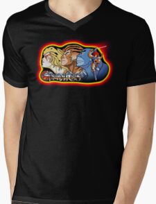 Thundercats Design T-shirt Mens V-Neck T-Shirt