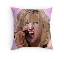 Courtney - pink  Throw Pillow