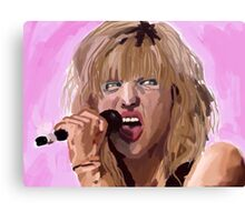 Courtney - pink  Canvas Print