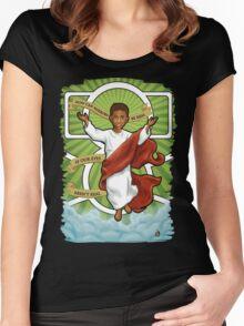 Jaden Smith: The prophet Women's Fitted Scoop T-Shirt