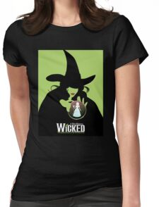 Wicked Broadway Musical Wizard Of Oz T-Shirt Womens Fitted T-Shirt