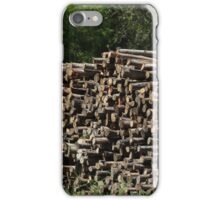 Log Pile iPhone Case/Skin