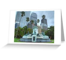 Governor Phillip Fountain Greeting Card