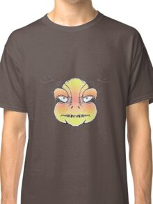 Angry Monster Portrait Drawing Classic T-Shirt
