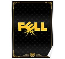 Fell Computers Black Tee/Poster Poster