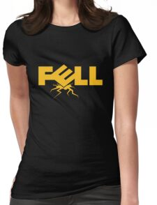 Fell Computers Black Tee/Poster Womens Fitted T-Shirt
