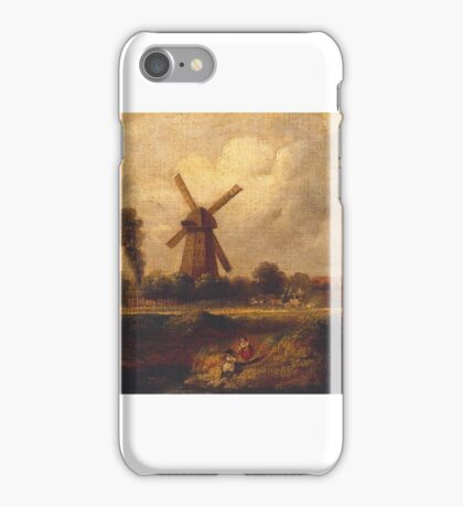 John Constable  Title 'Barnes Common' iPhone Case/Skin