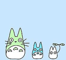Totoro Pattern  by PlatypusDoodles