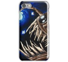 Angler Fish in the Stars  iPhone Case/Skin