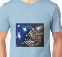 Angler Fish in the Stars  Unisex T-Shirt