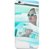 Vintage 1950s Girl Driving iPhone Case/Skin