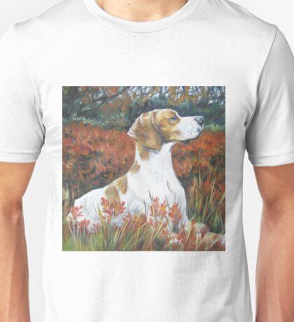 English Pointer Fine Art Painting Unisex T-Shirt