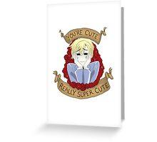 """Tamaki Suoh """"You're Cute"""" - OHSHC FanArt Greeting Card"""