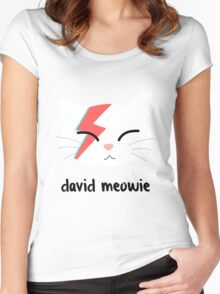 Meowie Women's Fitted Scoop T-Shirt