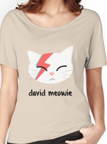 Meowie Women's Relaxed Fit T-Shirt
