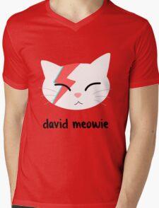 Meowie Mens V-Neck T-Shirt