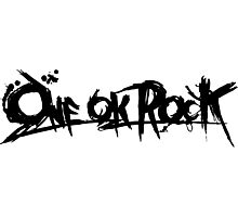One Ok Rock !! (black) Photographic Print