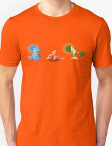 Starters from different generations  T-Shirt