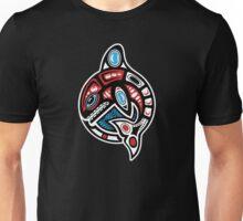 Orca Shamanic Animal Emblem Unisex T-Shirt