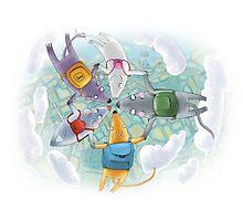 Skydivers by mazhuzha
