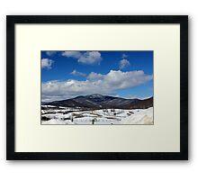 Cold Call, Shenandoah Framed Print