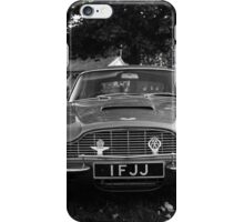 Aston Martin DB6 @ Prescott Speed Hill Climb iPhone Case/Skin