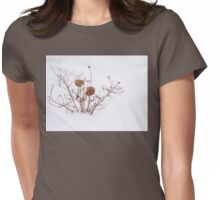 WINTER GARDEN Womens Fitted T-Shirt