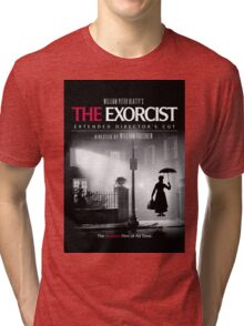 Mary Poppins in The Exorcist Tri-blend T-Shirt